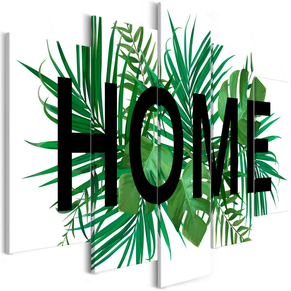 Quadro - Home on the Leaves (5 Parts) Wide