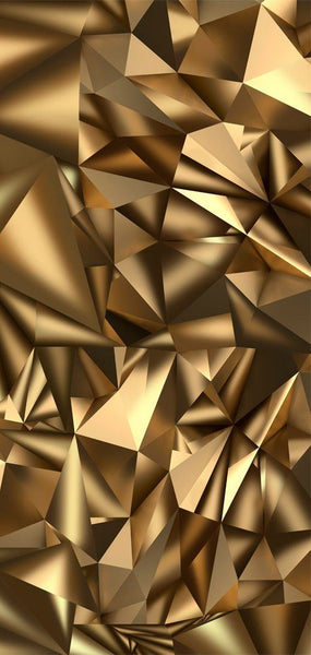 Carta da parati per porte - Photo wallpaper - Golden Geometry I