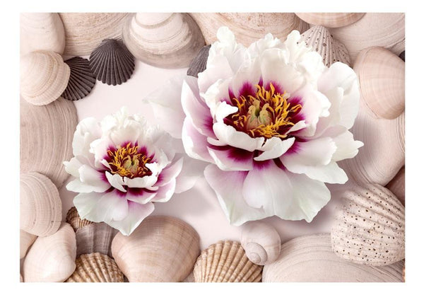 Carta da parati - Flowers and Shells
