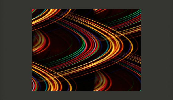 Carta da parati - Abstract colourful lights