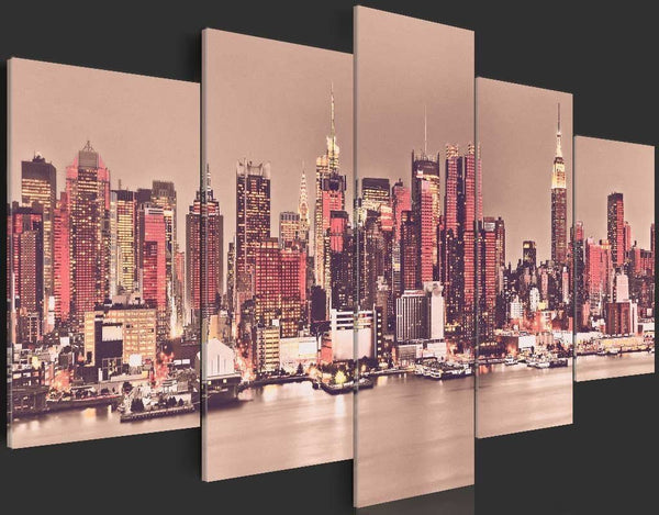 Quadro su tela - NY - The City That Never Sleeps