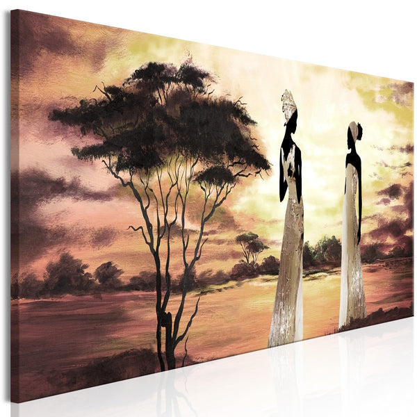 Quadro - African Goddesses (1 Part) Narrow
