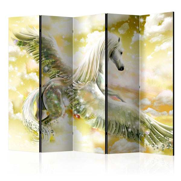 Paravento - Pegasus (Yellow) II [Room Dividers]