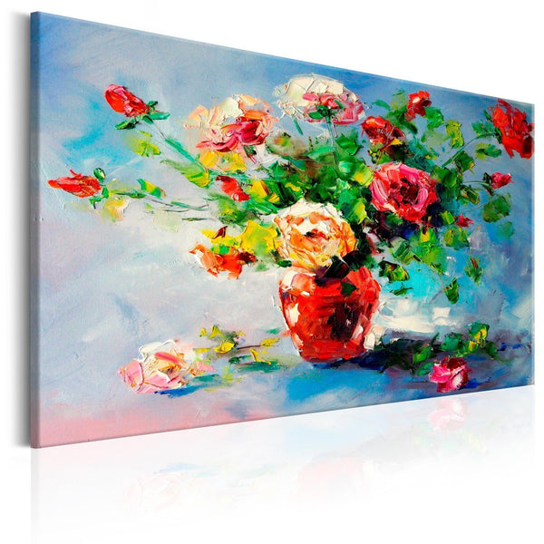 Quadro dipinto a mano - Beautiful Roses