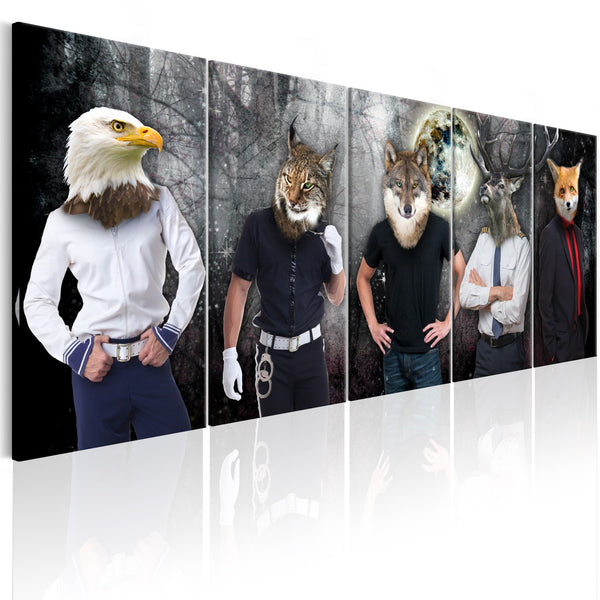 Quadro - Animal Faces