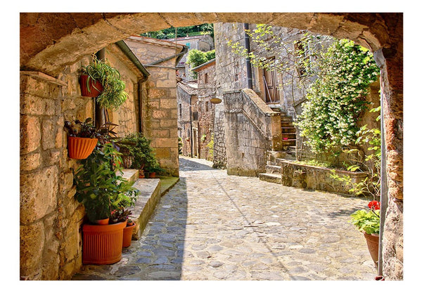 Carta da parati - Provincial alley in Tuscany