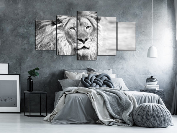 Quadro - The King of Beasts (5 Parts) Wide Black and White
