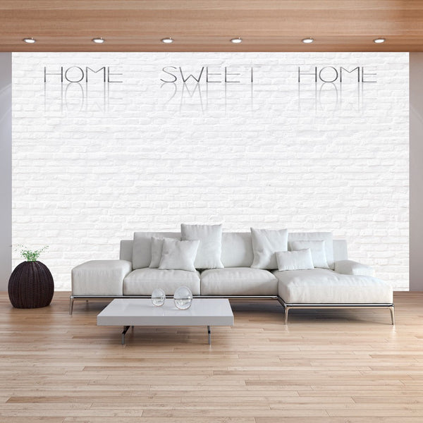 Fotomurale - Home, sweet home - wall