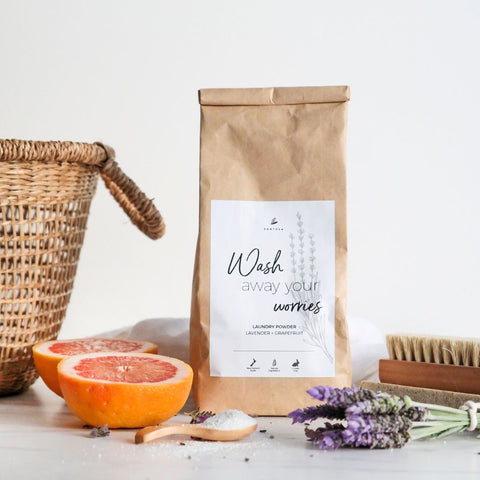 Natural Laundry Powder | Wash Away Your Worries | Lavender Peppermint