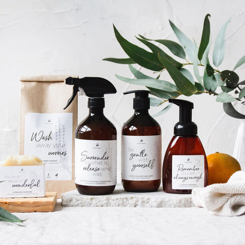 Santosa Lifestyle | Eco Cleaner | Laundry Powder | Foaming Hand Soap