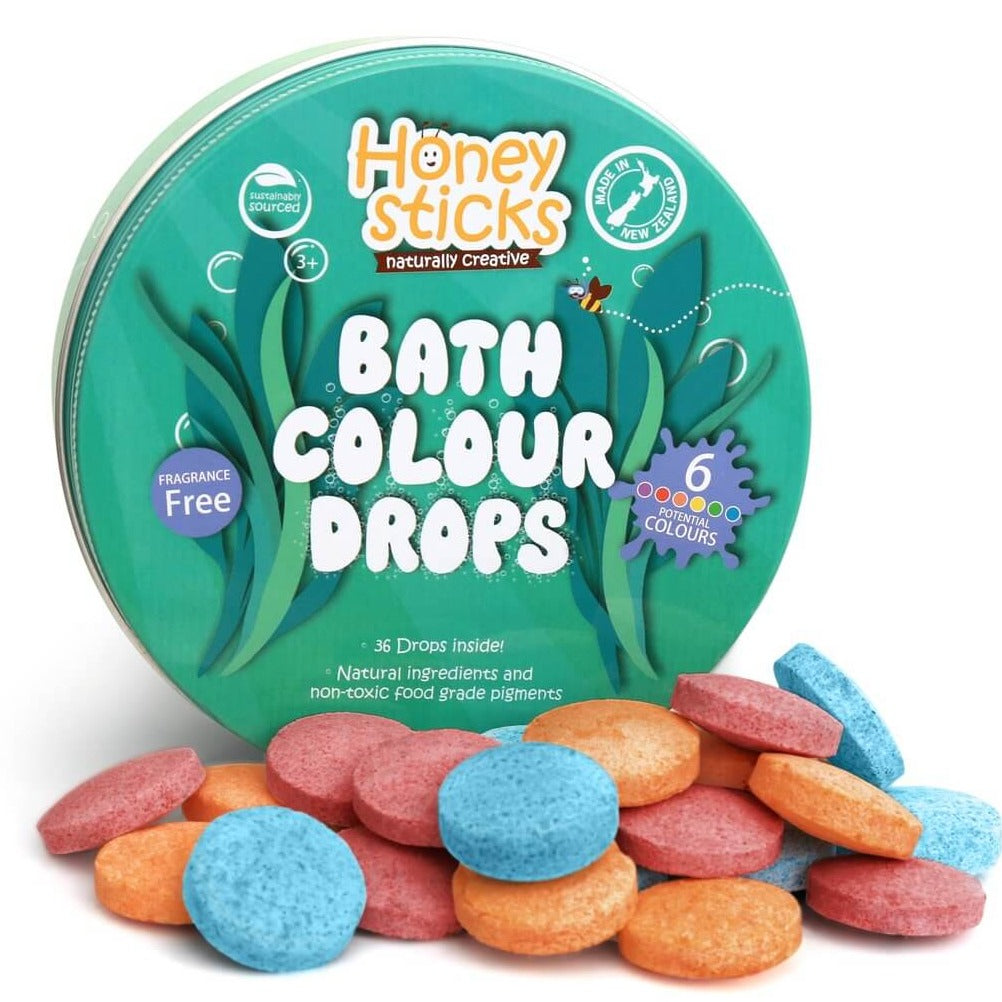 Honeysticks Bath Drops Tin