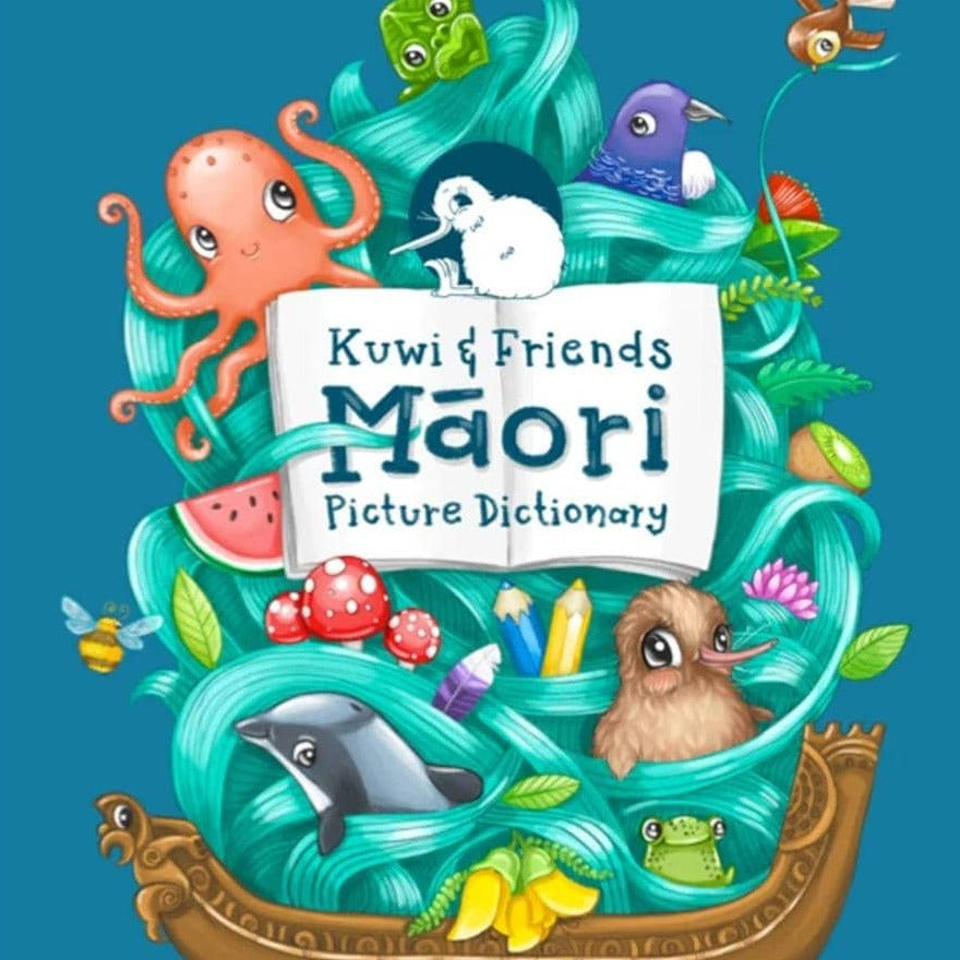 Kuwi and Friends Maori Picture Dictionary Cover