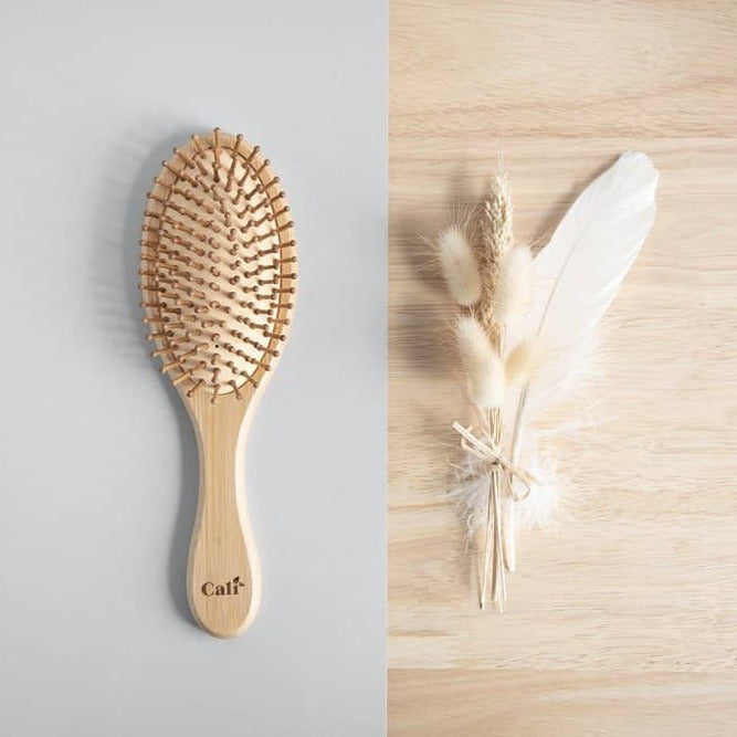 Bamboo Hair Brush Artistic