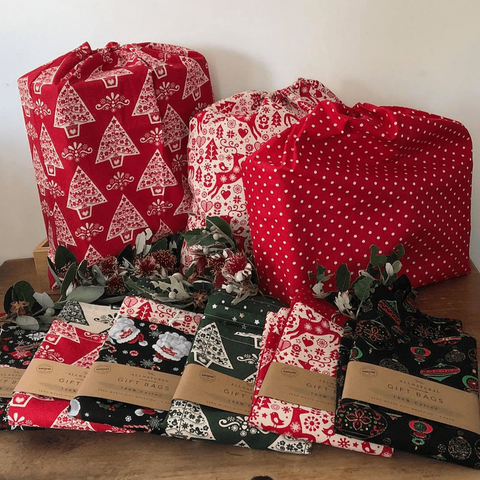 Reusable Christmas Gift Bags