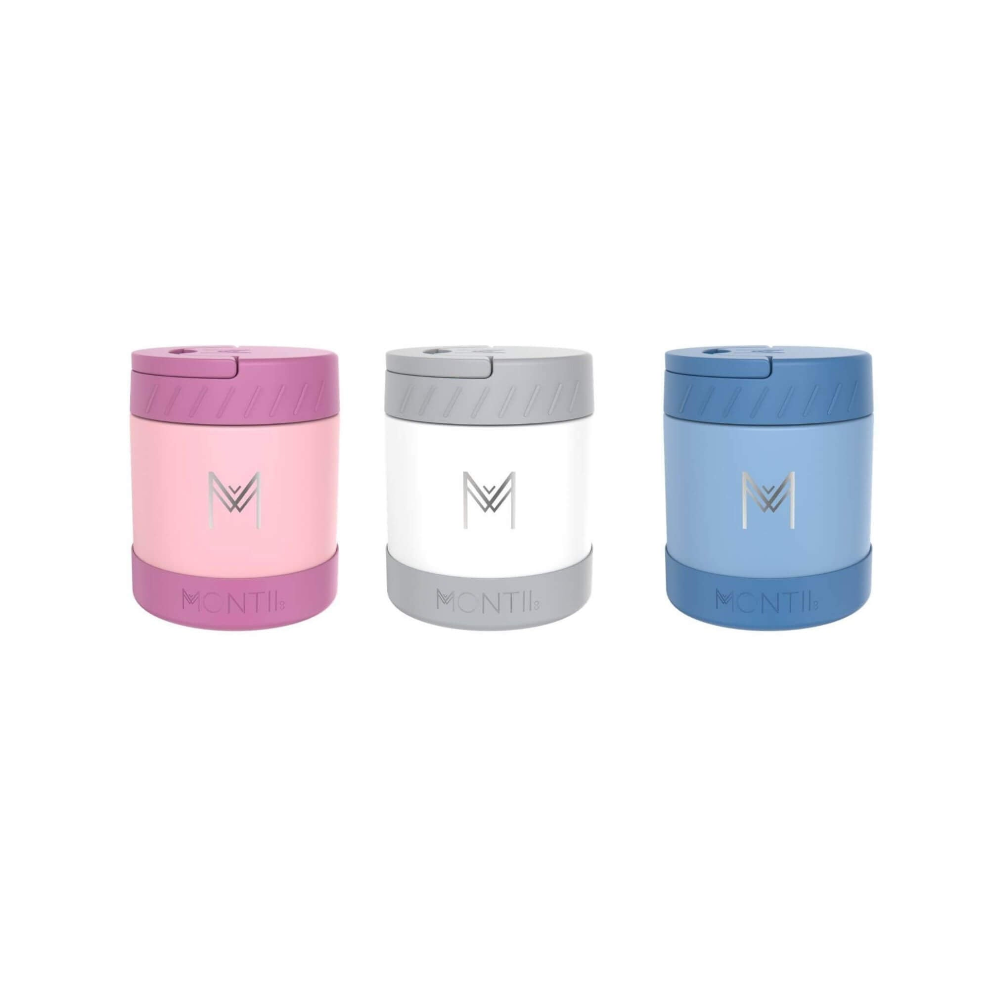 MontiiCo Food Jars All Colours