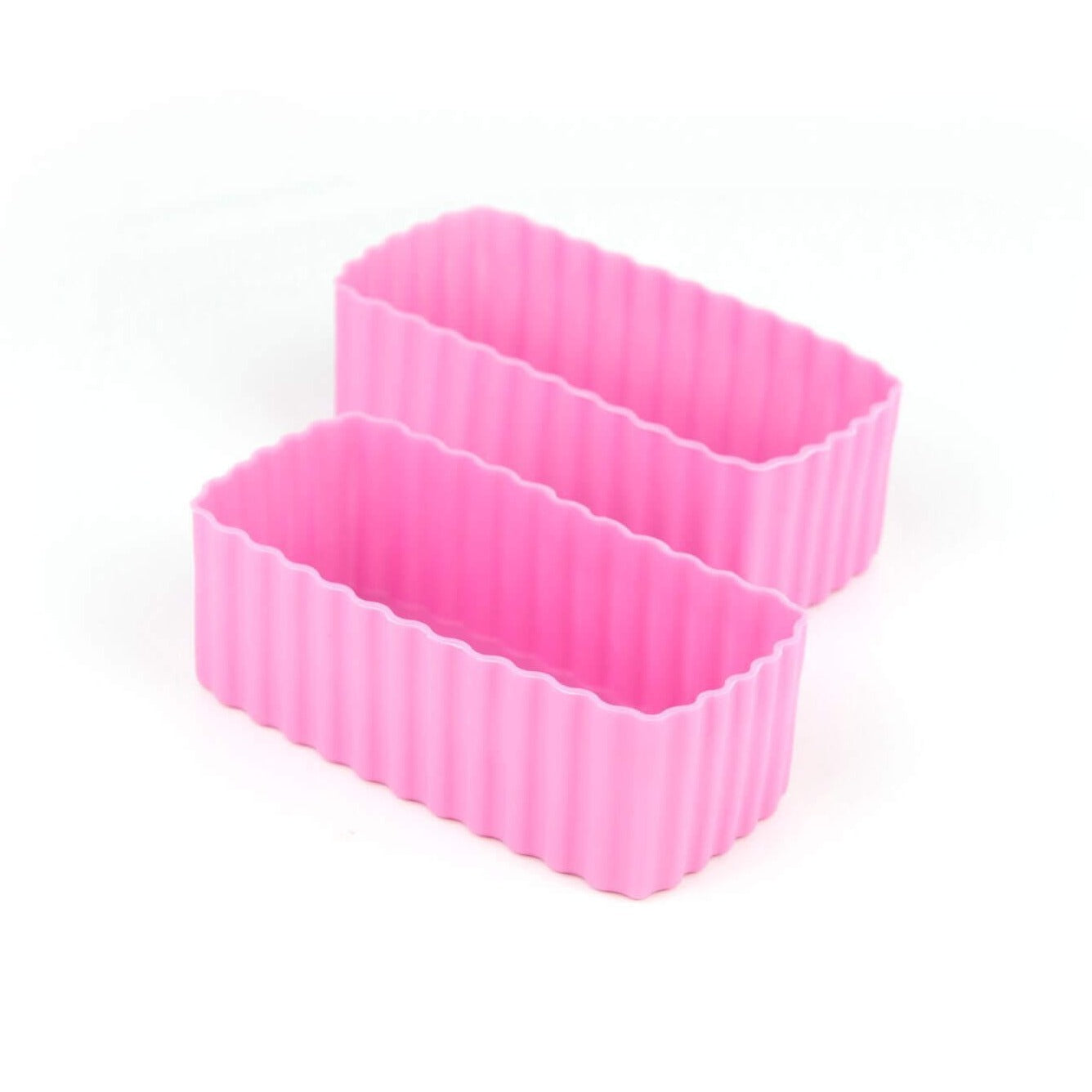 Bento Cups Rectangle 2 Pack Pink