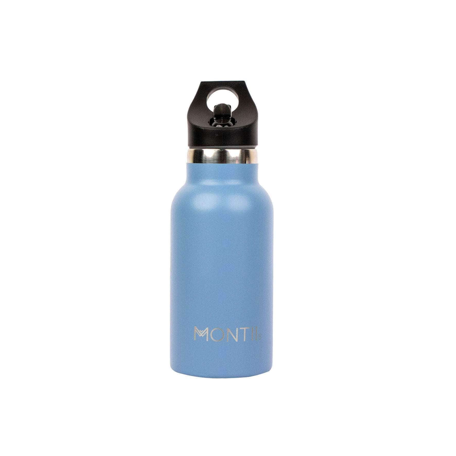 Montii Mini Insulated Drink Bottle Slate Blue