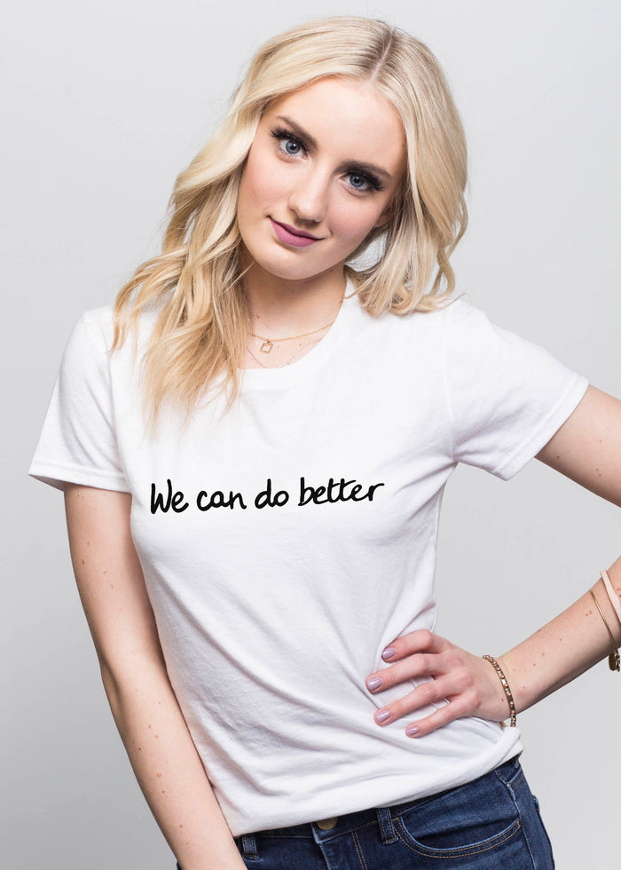 """We can do better"" - Le Motto"