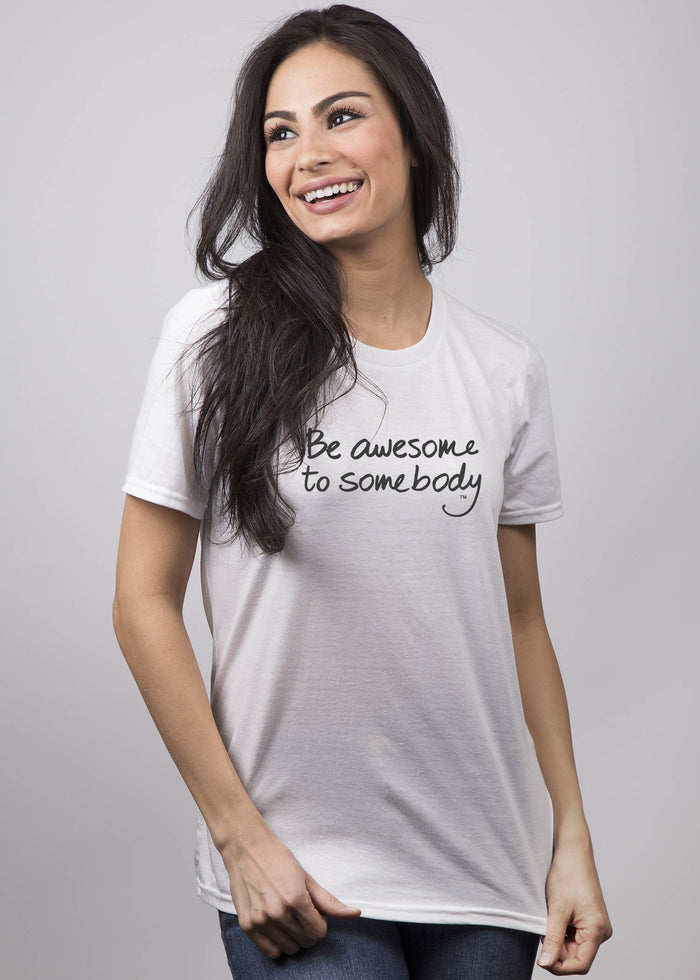 """Be awesome to somebody"" - Le Motto"
