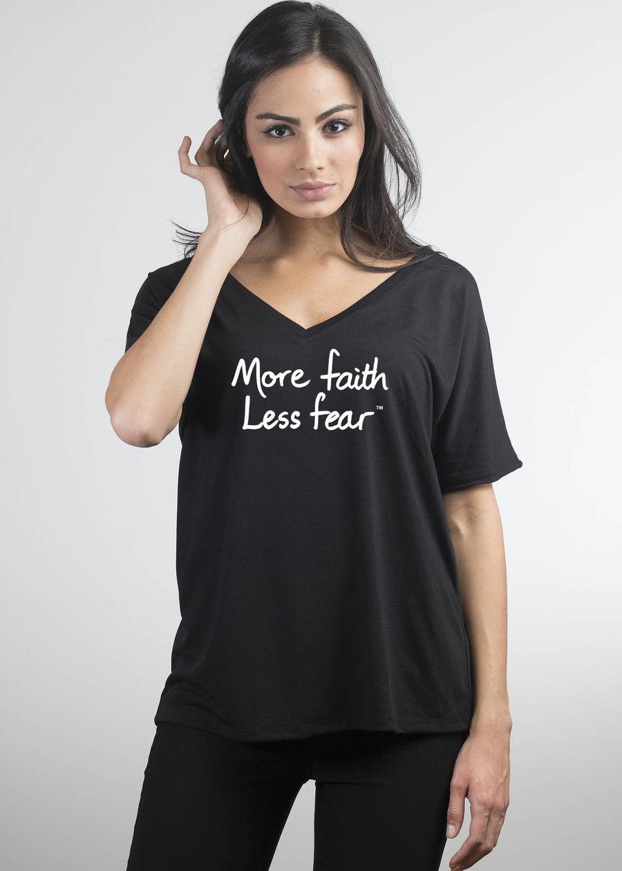 """More faith, Less fear"" - Le Motto"