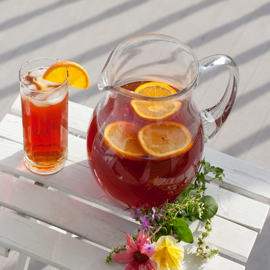 Saffron Iced Tea Recipe