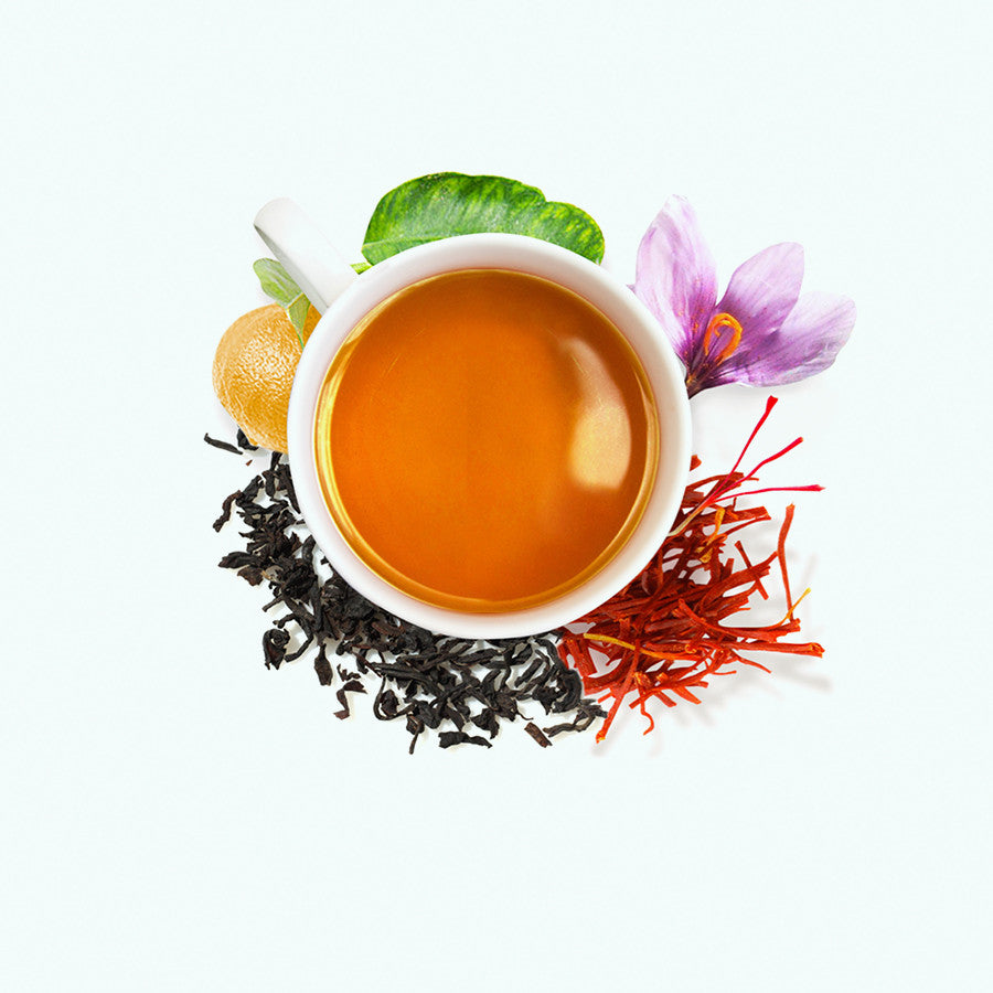 .Saffron Earl Grey Tea