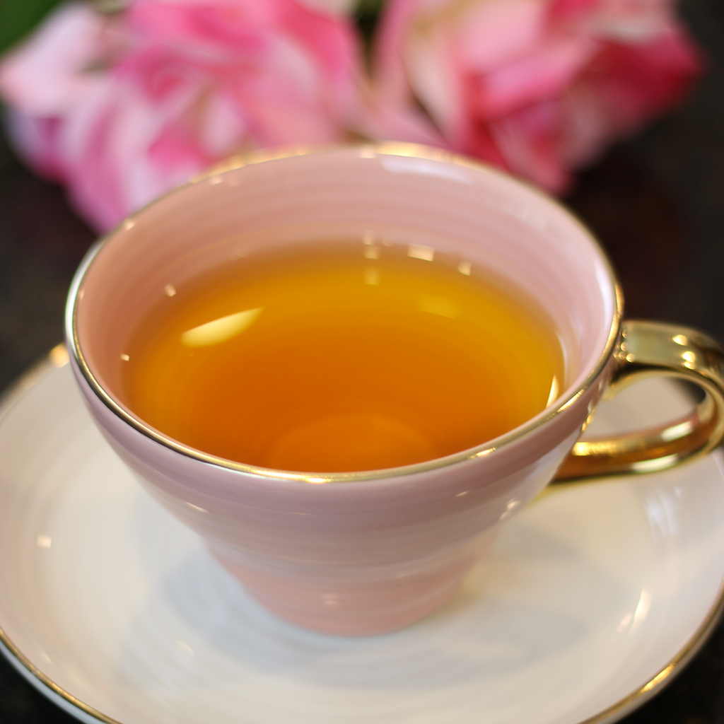.Saffron Green Tea