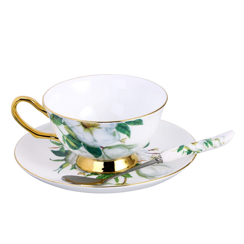 European Style Tea Set | Creative Ceramic Cup Set for Afternoon Tea