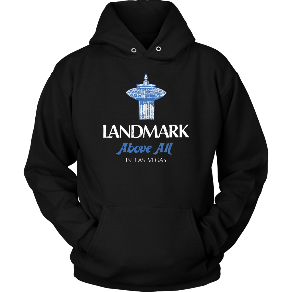 Landmark Above All - Vintage Las Vegas Hoodie