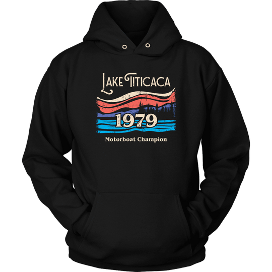 Lake Titicaca Motorboat Champion Hoodie