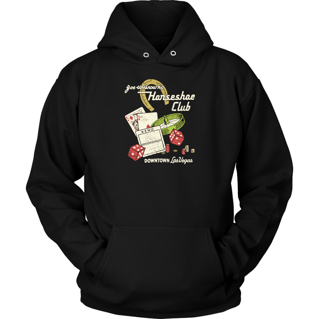 Joe W. Brown's Horseshoe Club - Vintage Las Vegas Hoodie