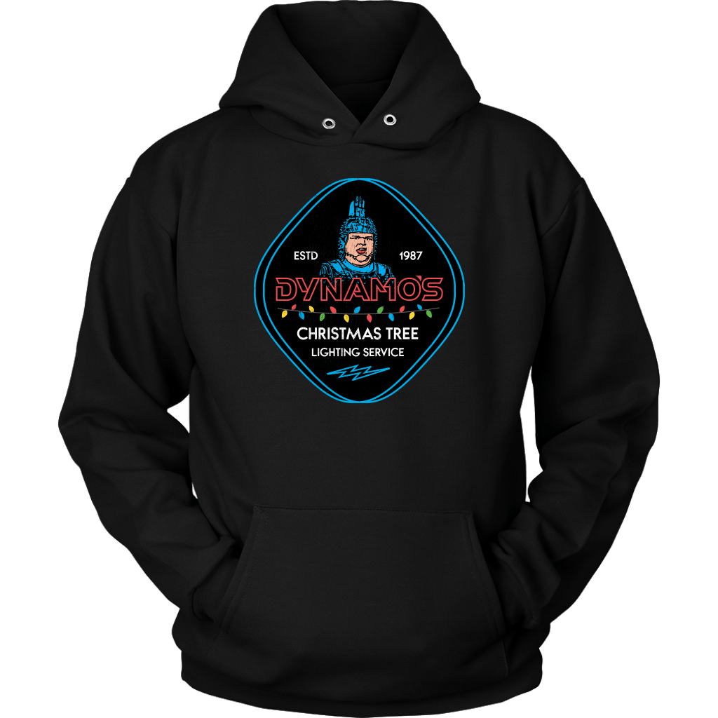 Dynamo's Christmas Tree Lighting Service Hoodie