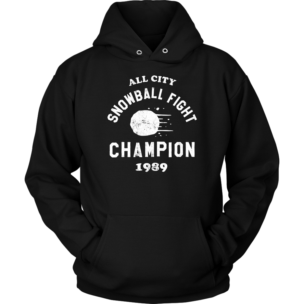 All City Snowball Fight Champion Hoodie