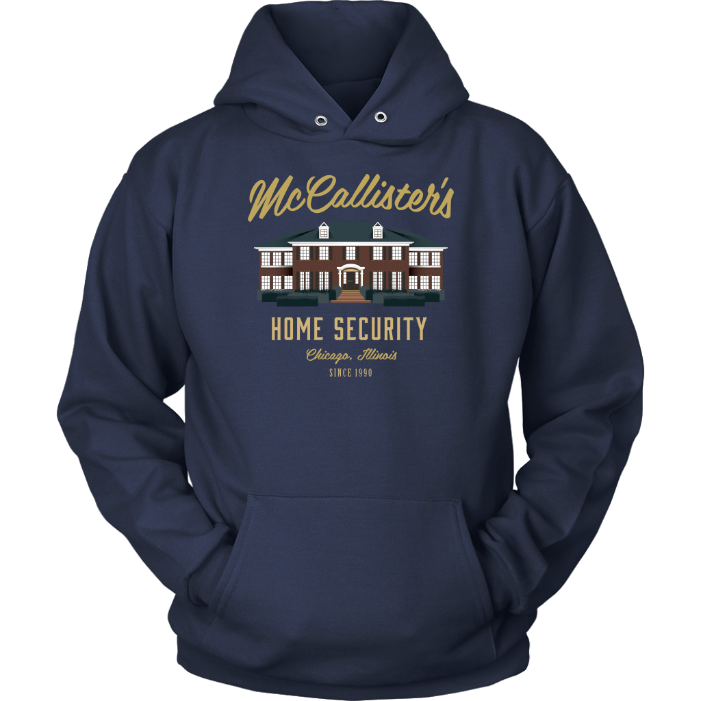 McCallister's Home Security Hoodie