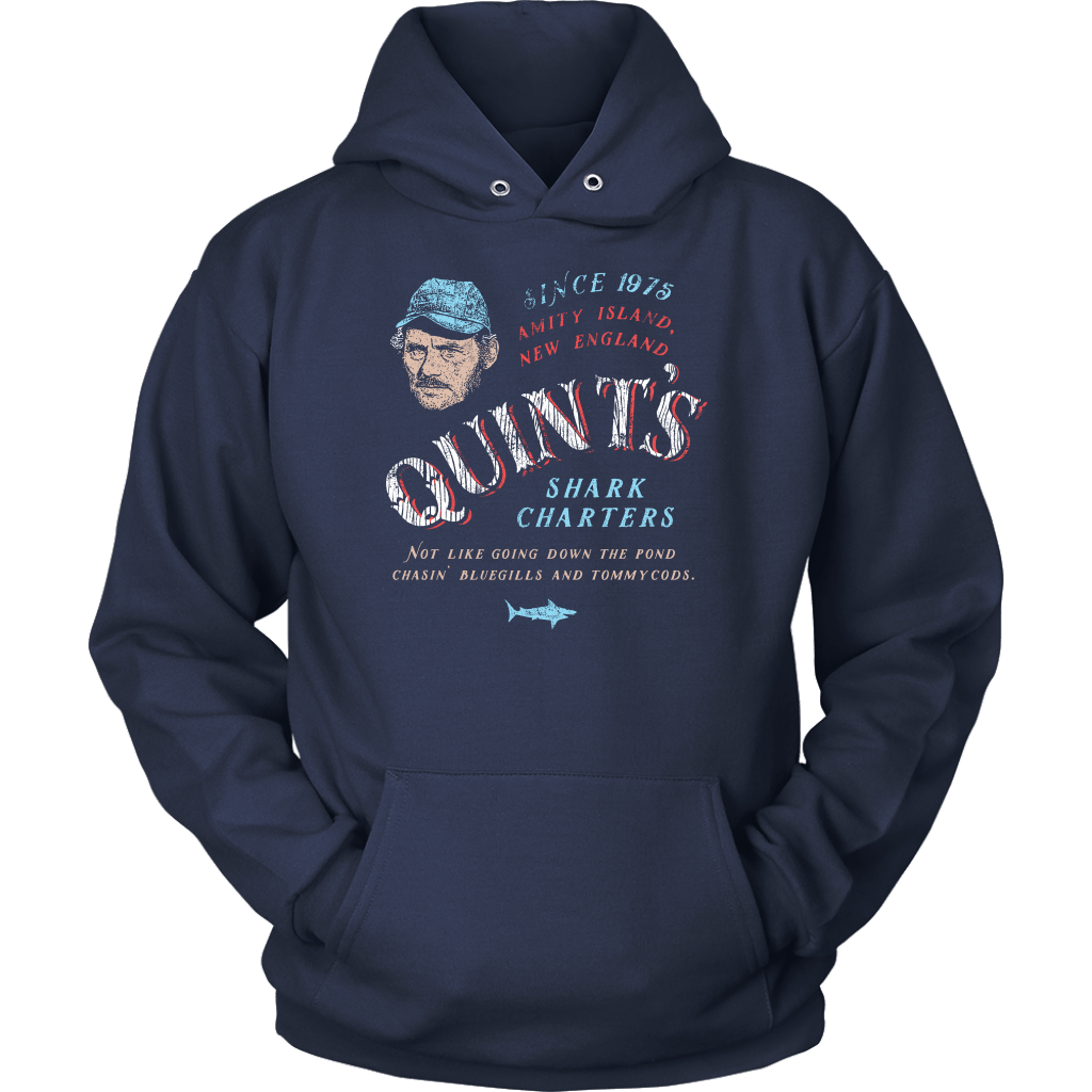 Quint's Shark Charters Hoodie