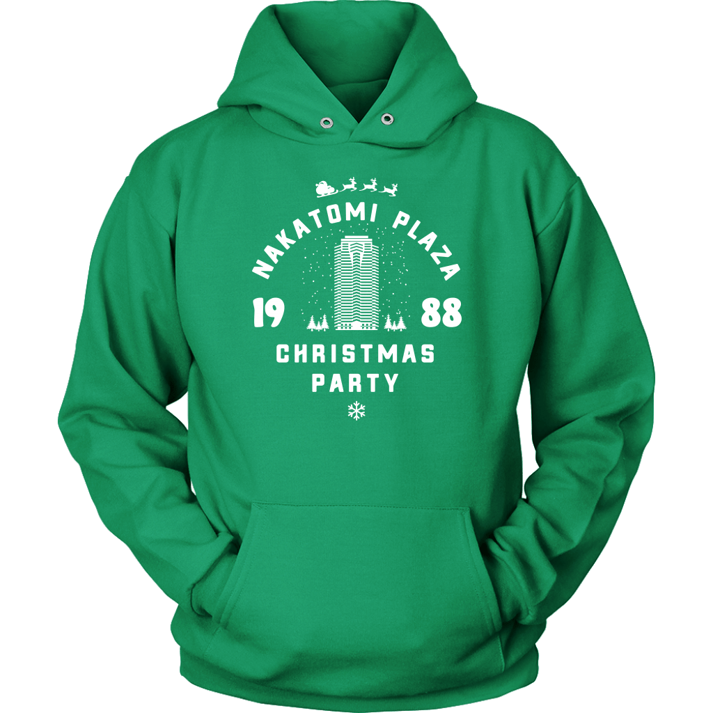 Nakatomi Plaza Christmas Party Hoodie