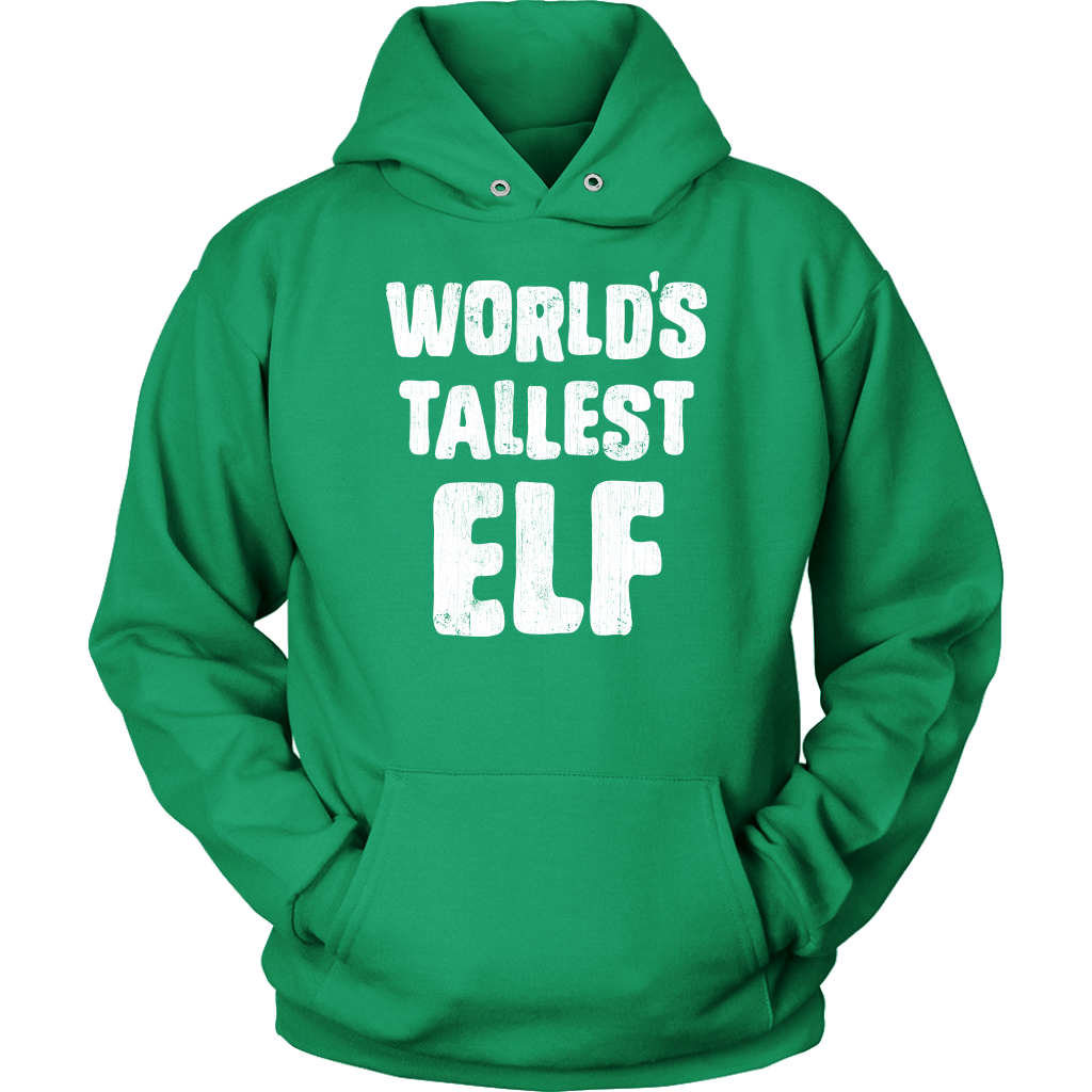 World's Tallest Elf Hoodie