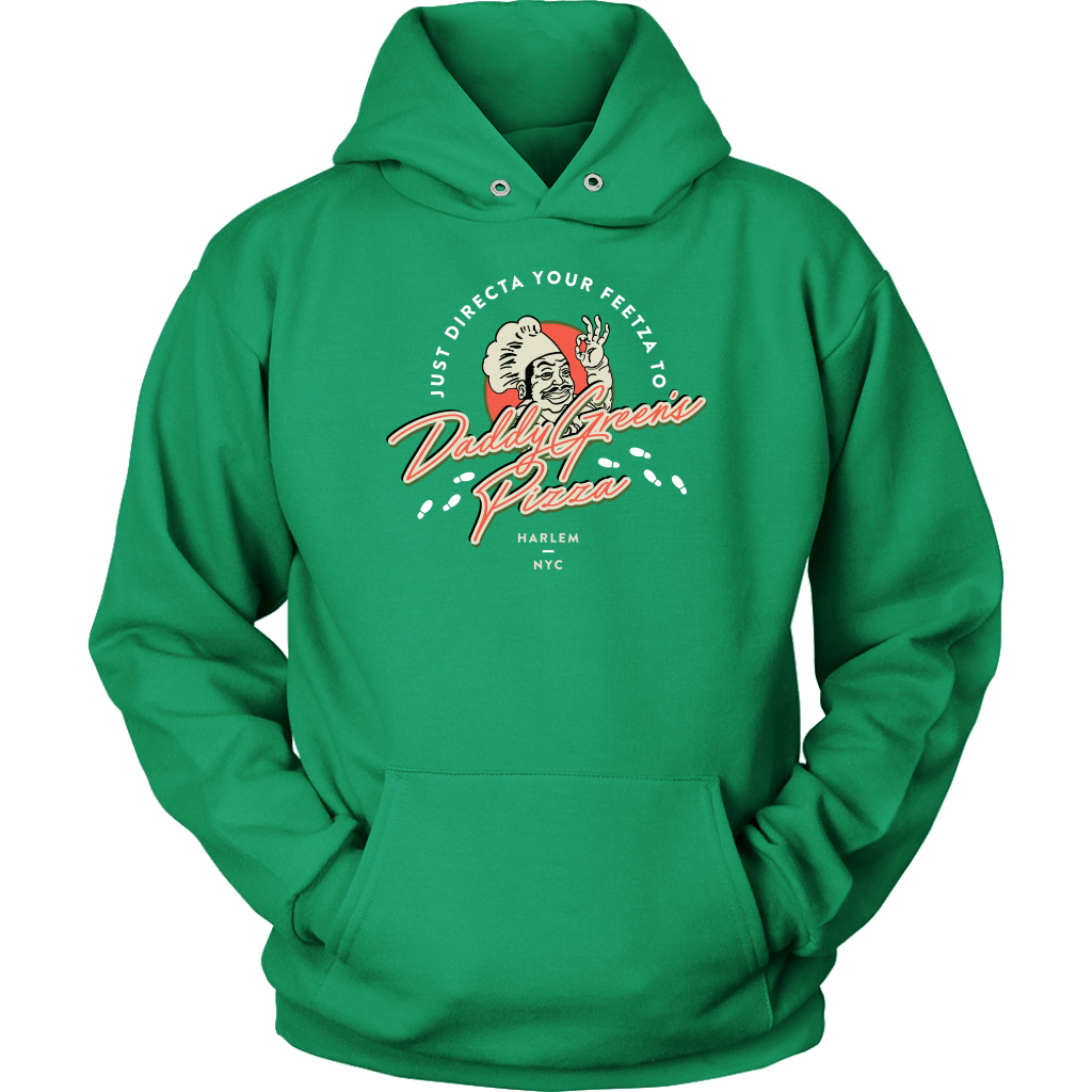 Daddy Green's Pizza Hoodie