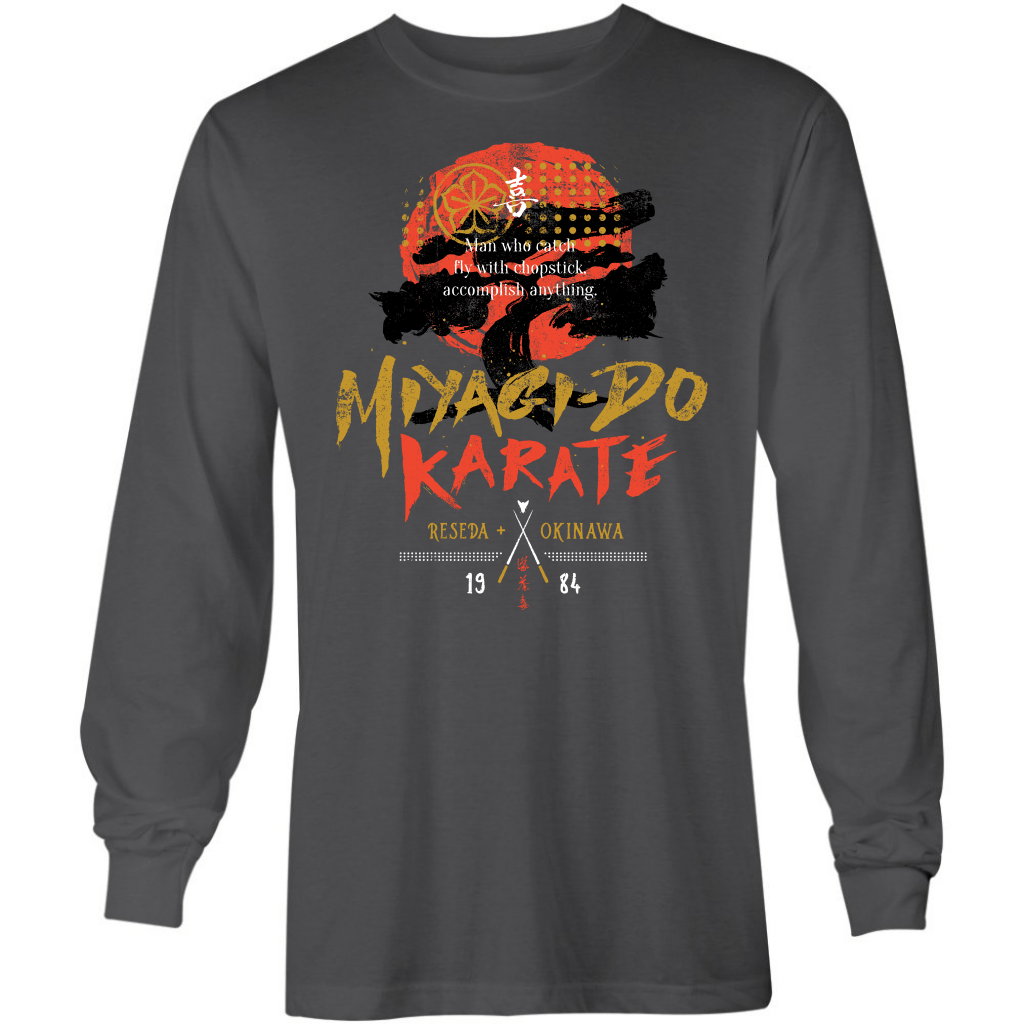 Miyagi-Do Karate - Long Sleeve T-Shirt
