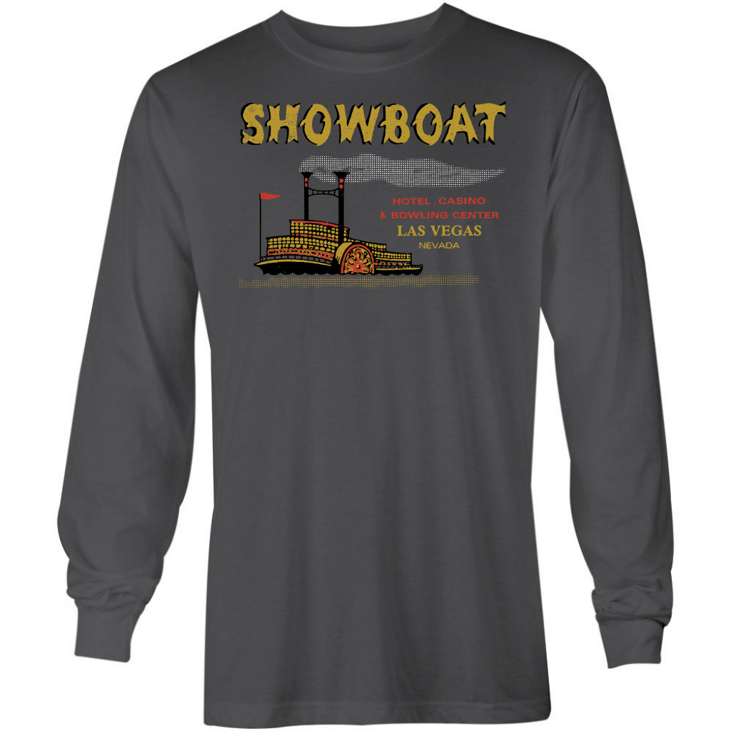 Showboat Hotel & Casino - Vintage Las Vegas - Long Sleeve T-Shirt