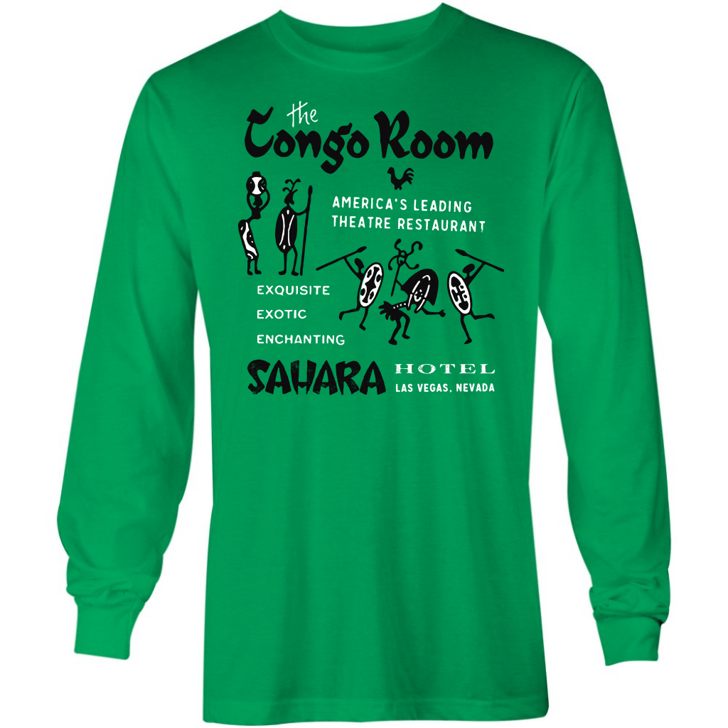 The Congo Room - Vintage Las Vegas - Long Sleeve T-Shirt