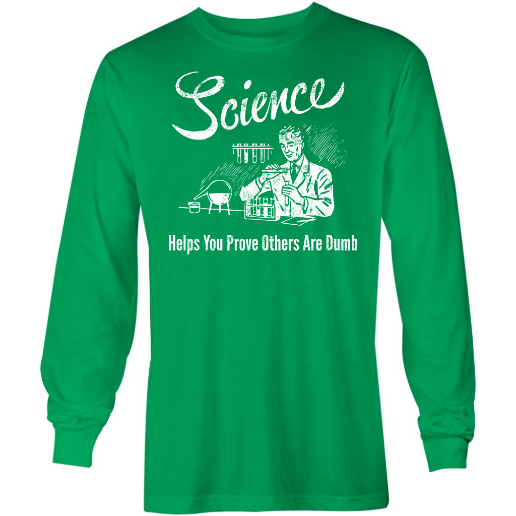 Science - Long Sleeve T-Shirt