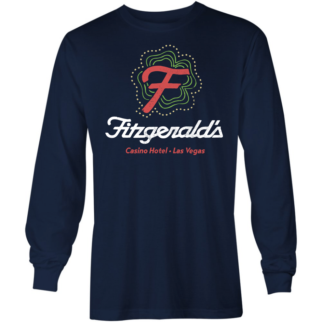 Fitzgerald's Hotel & Casino - Vintage Las Vegas - Long Sleeve T-Shirt