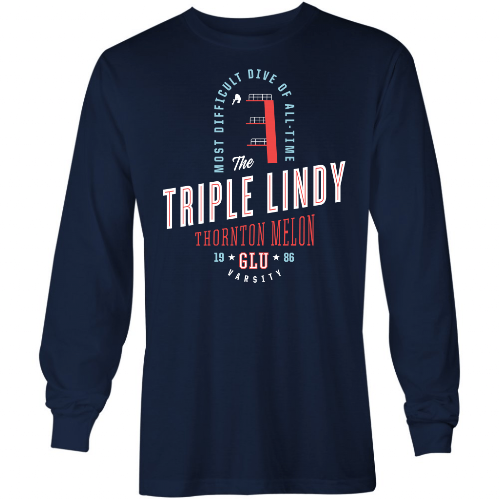 Triple Lindy - Long Sleeve T-Shirt
