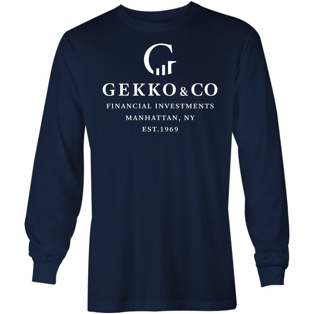 Gekko & Co Financial Investments - Long Sleeve T-Shirt