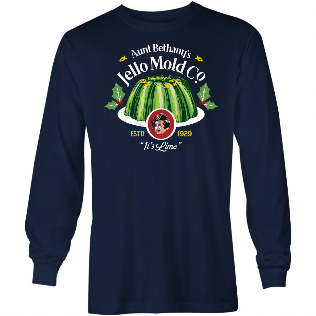 Aunt Bethany's Jello Mold Co. - Long Sleeve T-Shirt