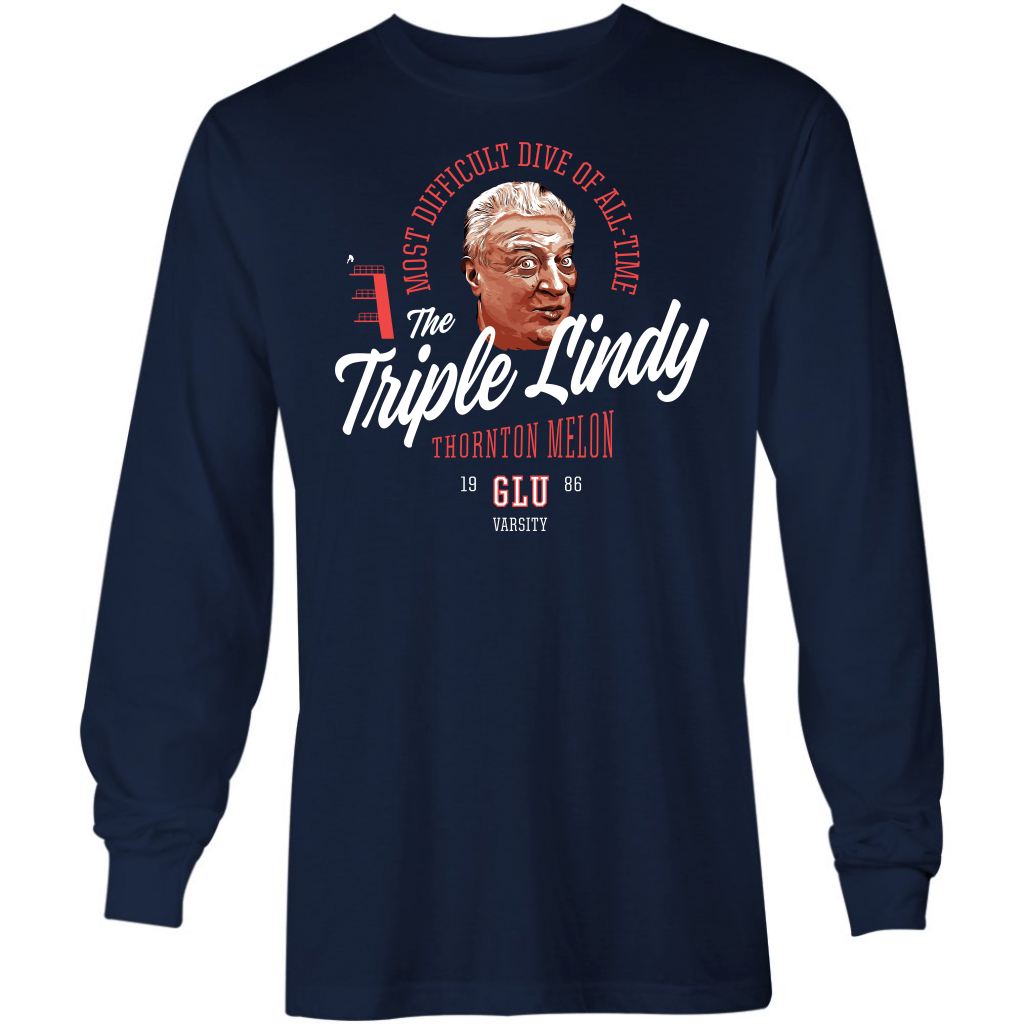 The Triple Lindy - Long Sleeve T-Shirt