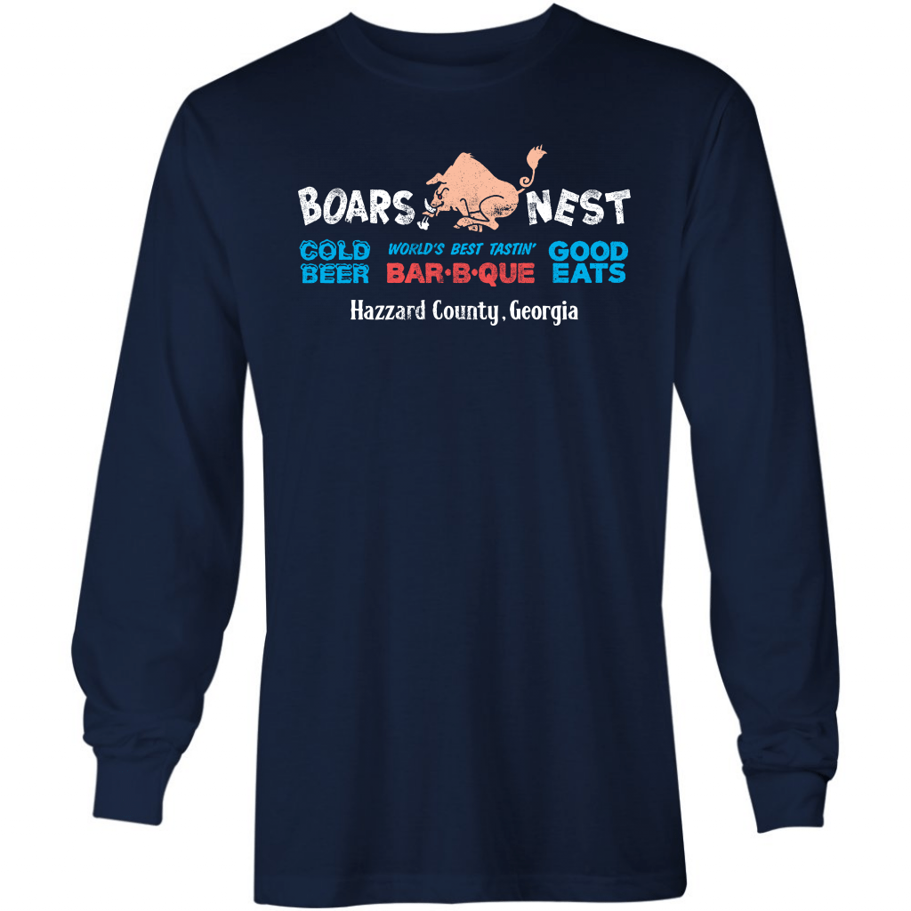 Boars Nest - Long Sleeve T-Shirt