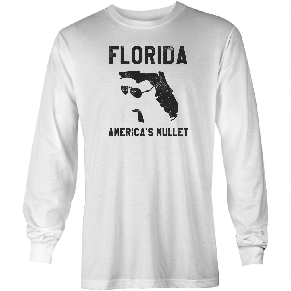 Florida - America's Mullet - Long Sleeve T-Shirt