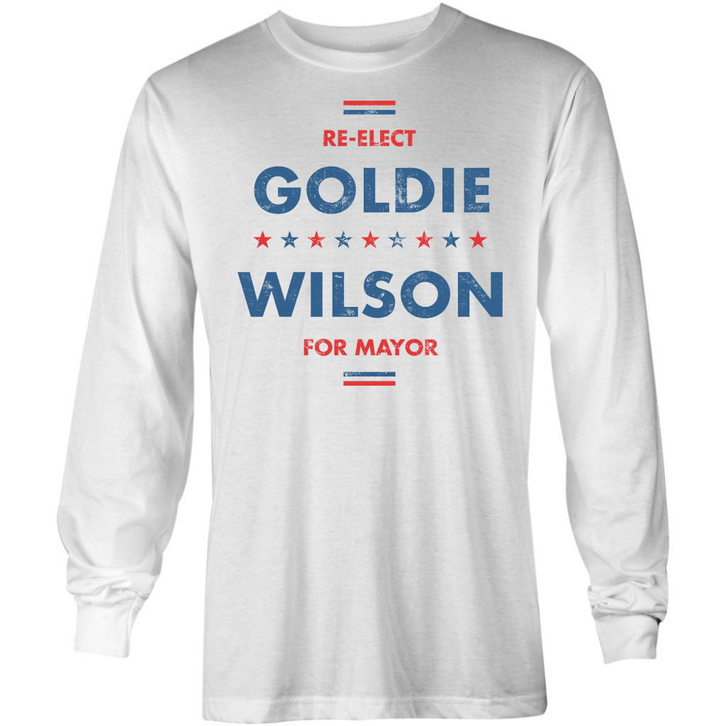 Goldie Wilson - Long Sleeve T-Shirt
